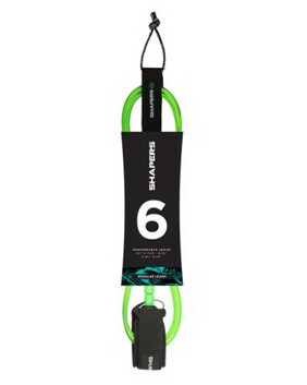 SHAPERS Regular Surf Leash 6'