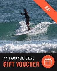 GIFT VOUCHER - Stand Up Paddle Surf Introduction Package