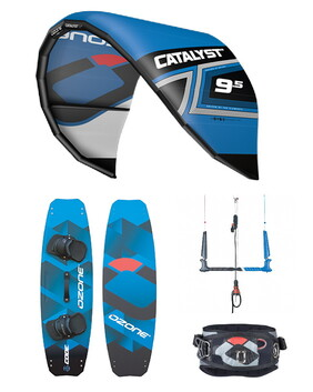OZONE 2020 Catalyst V2 Kite Package