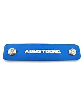 ARMSTRONG Ultralight Footstrap - Blue or Red