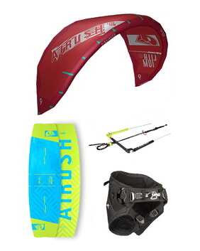 AIRUSH 2020 Lithium Progression Kite Package